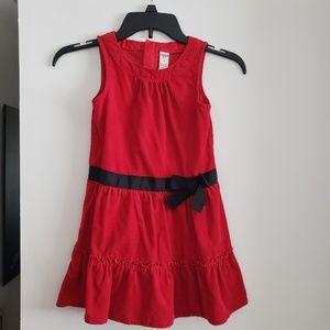 Osh Kosh Bgosh girls red dress